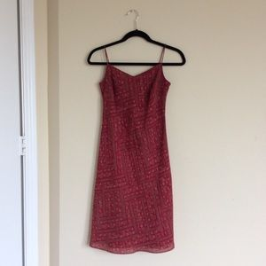 Ann Taylor Loft Floral Slip Dress Size 2P